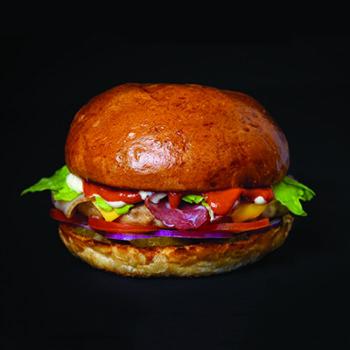 Этна бургер -Стандартный 6,90 -Большой 9,90